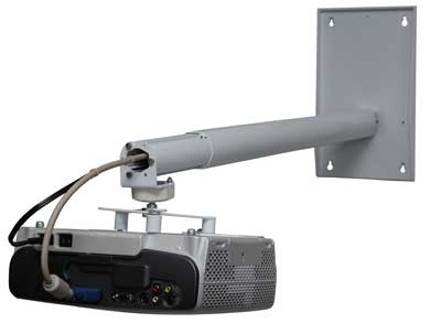 One Mount Extendable Fixed Wall Mount Projector Screen