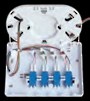 FSDI4SPSN - 4 Fibre Splice / Patch FTTH Indoor Wall Box